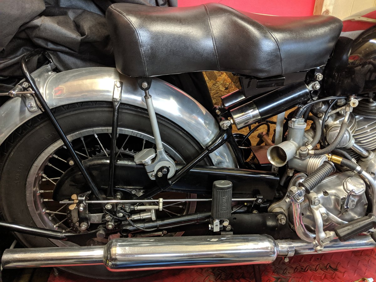 Vincent Series C Rapide 1950 For Sale (picture 4 of 6)