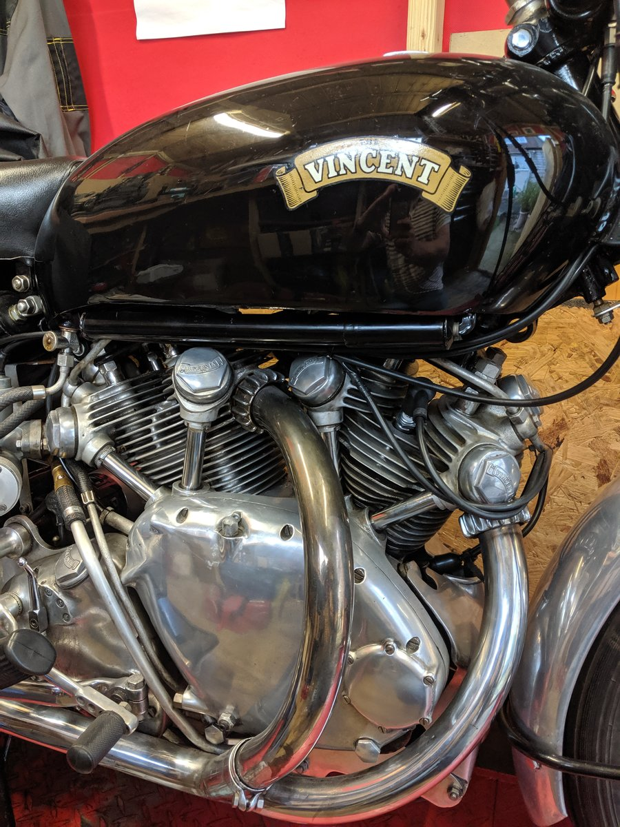 Vincent Series C Rapide 1950 SOLD (picture 5 of 6)