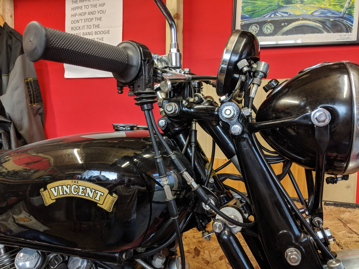 Vincent Series C Rapide 1950 For Sale (picture 6 of 6)