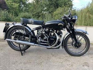 1951 Vincent Black Shadow Series C For Sale by Auction
