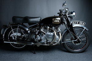 1951 Vincent 1000 Twin, Whiteshadow Spec, Elec Start For Sale