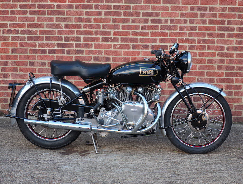 1949 Vincent HRD Rapide Series B - Electric Starter For Sale (picture 1 of 6)