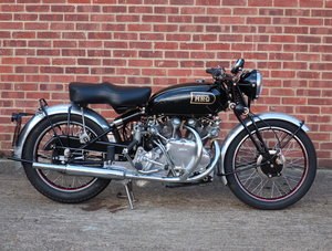 1949 Vincent HRD Rapide Series B - Electric Starter For Sale