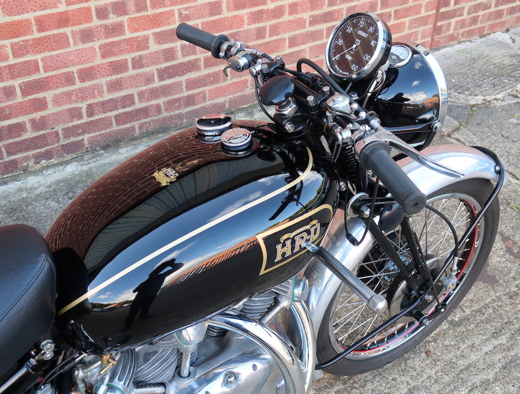 1949 Vincent HRD Rapide Series B - Electric Starter For Sale (picture 2 of 6)
