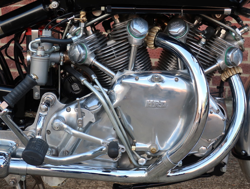 1949 Vincent HRD Rapide Series B - Electric Starter For Sale (picture 3 of 6)