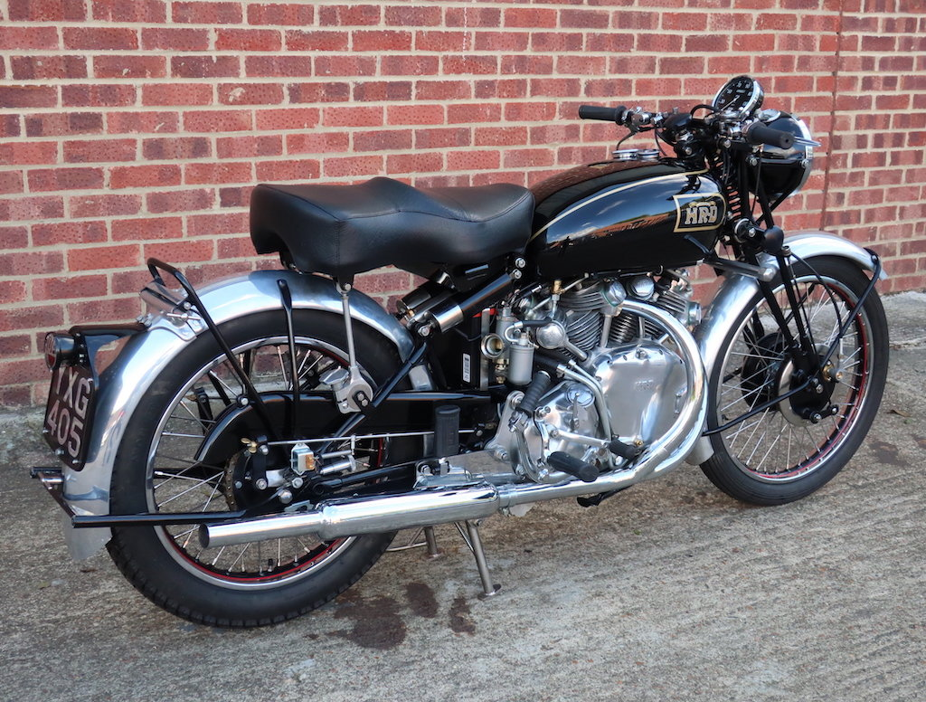 1949 Vincent HRD Rapide Series B - Electric Starter For Sale (picture 4 of 6)