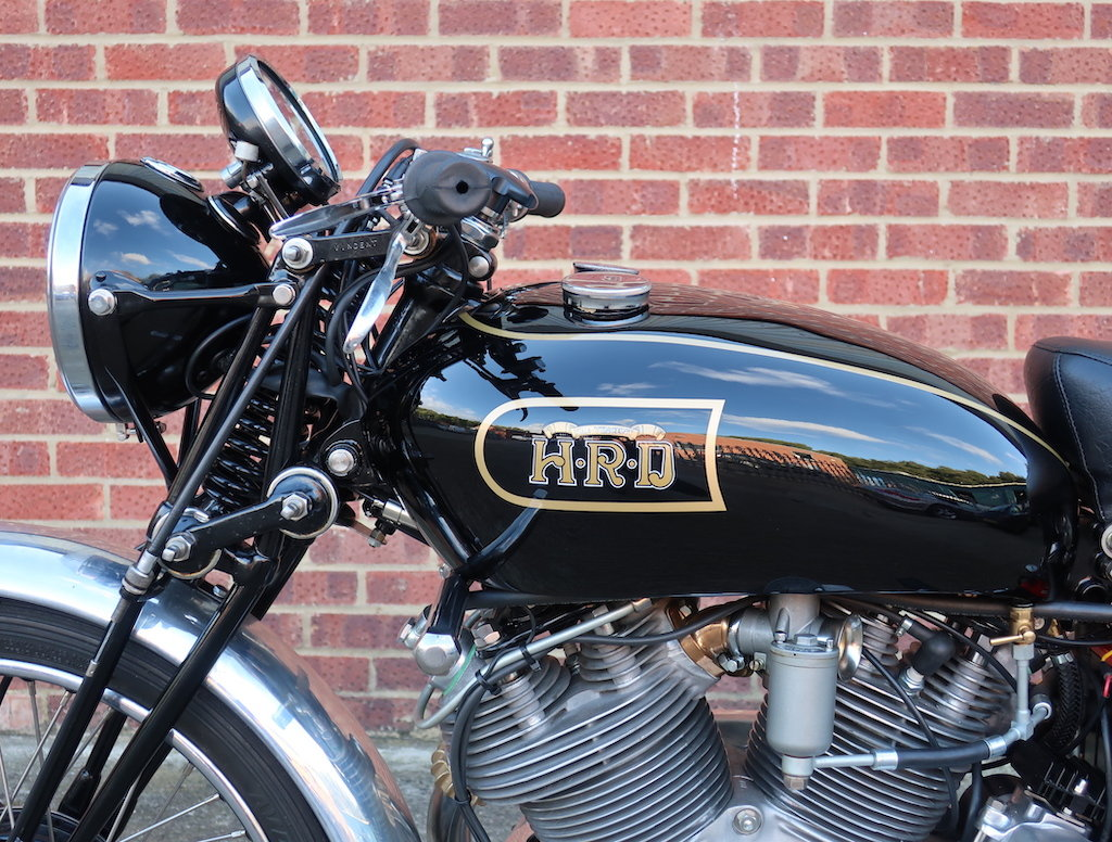1949 Vincent HRD Rapide Series B - Electric Starter For Sale (picture 5 of 6)