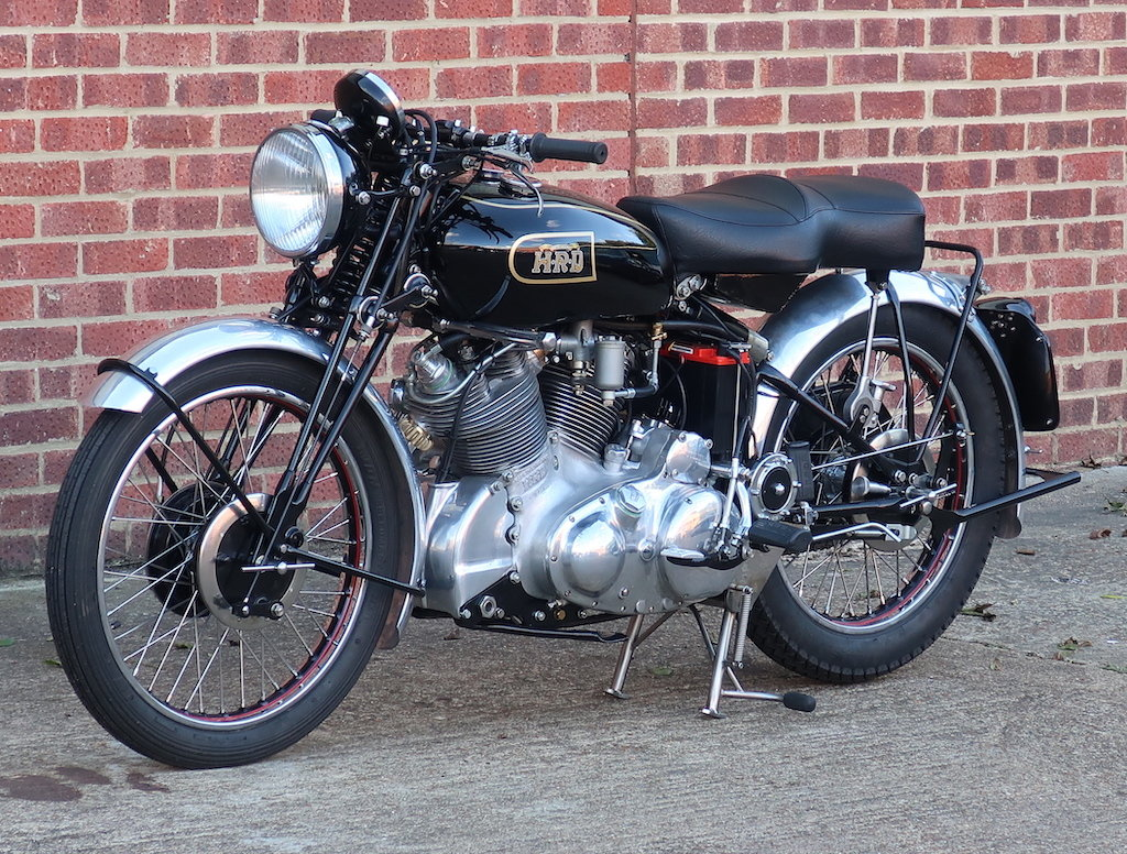 1949 Vincent HRD Rapide Series B - Electric Starter For Sale (picture 6 of 6)