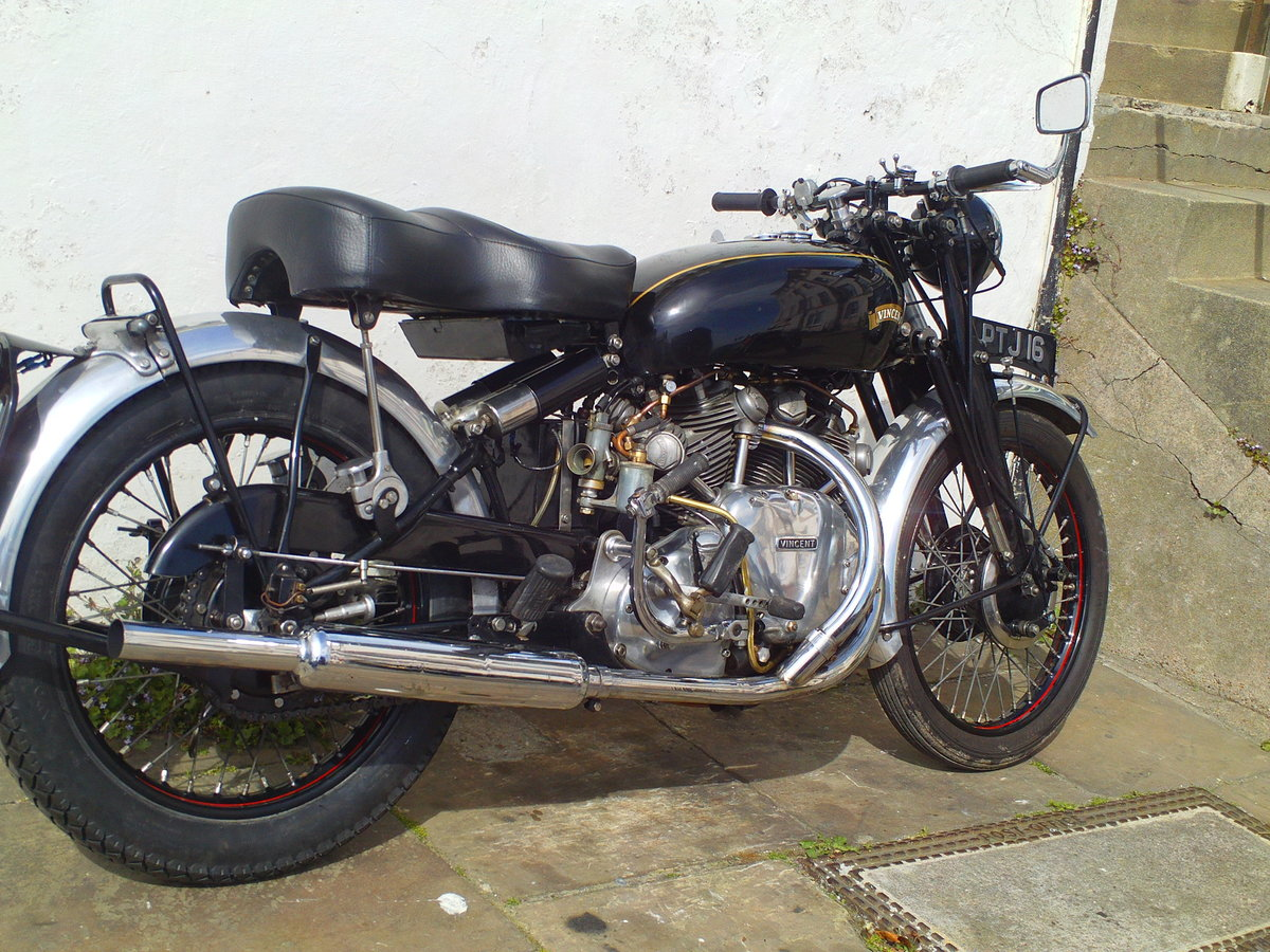 1952 VINCENT RAPIDE For Sale (picture 2 of 6)