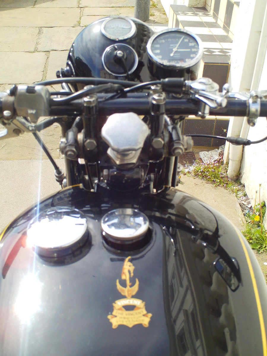 1952 VINCENT RAPIDE For Sale (picture 5 of 6)