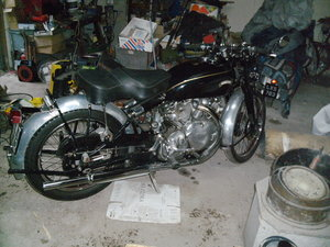 1952 Vincent Rapide series c For Sale