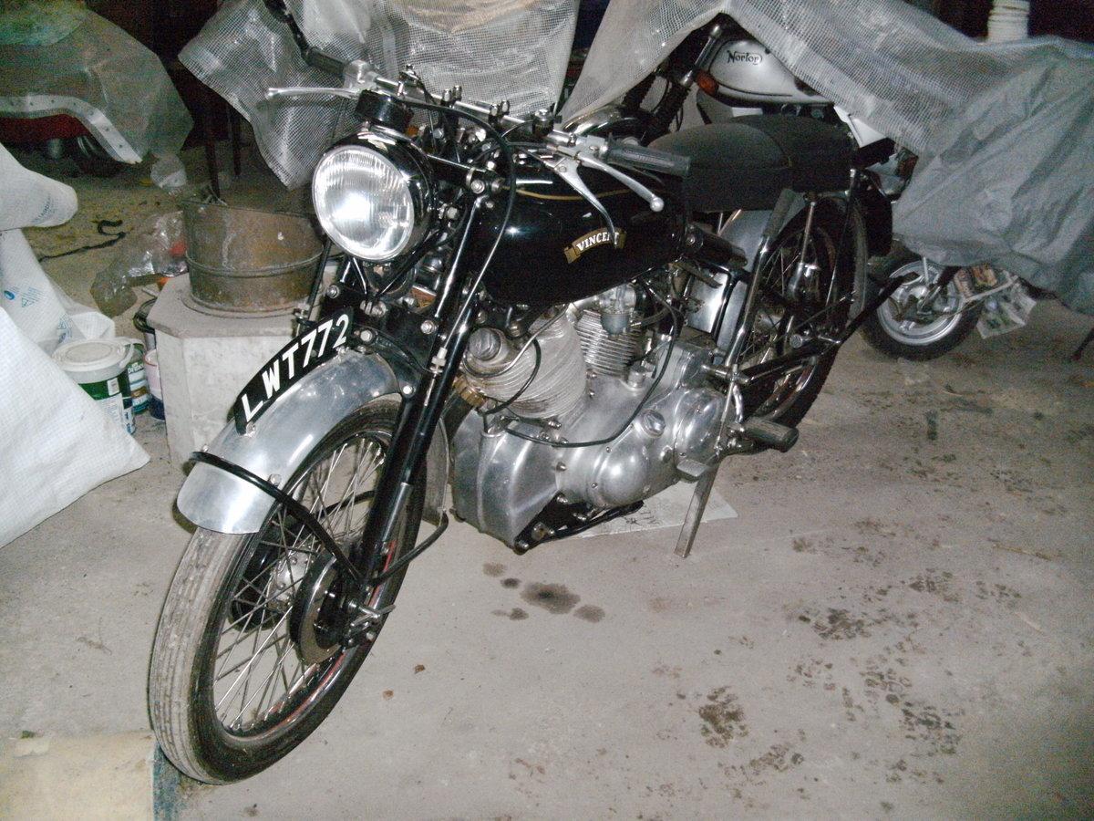 VINCENT SHOP MANUAL BOOK REPAIR MOTORCYCLE HANDBOOK BLACK SHADOW RAPIDE COMET