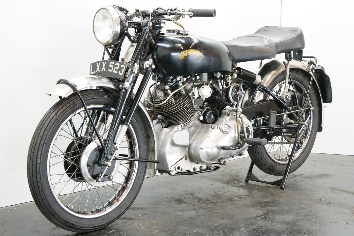 Vincent Comet 1951 500cc 1 cyl ohv For Sale (picture 3 of 6)