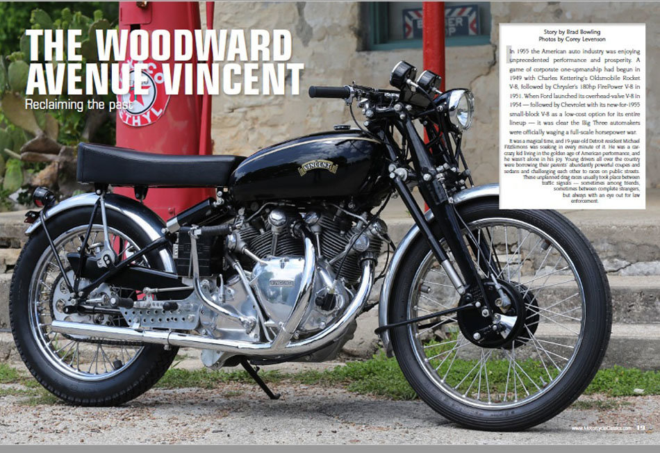 1952 Vincent Racer For Sale (picture 1 of 6)
