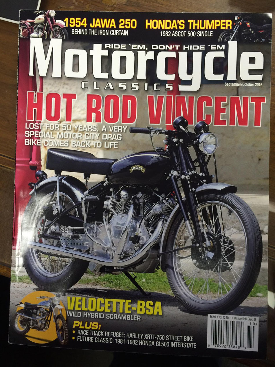 1952 Vincent Racer For Sale (picture 4 of 6)
