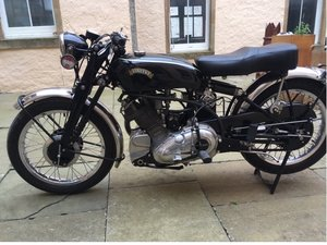Picture of 1950 vincent comet
