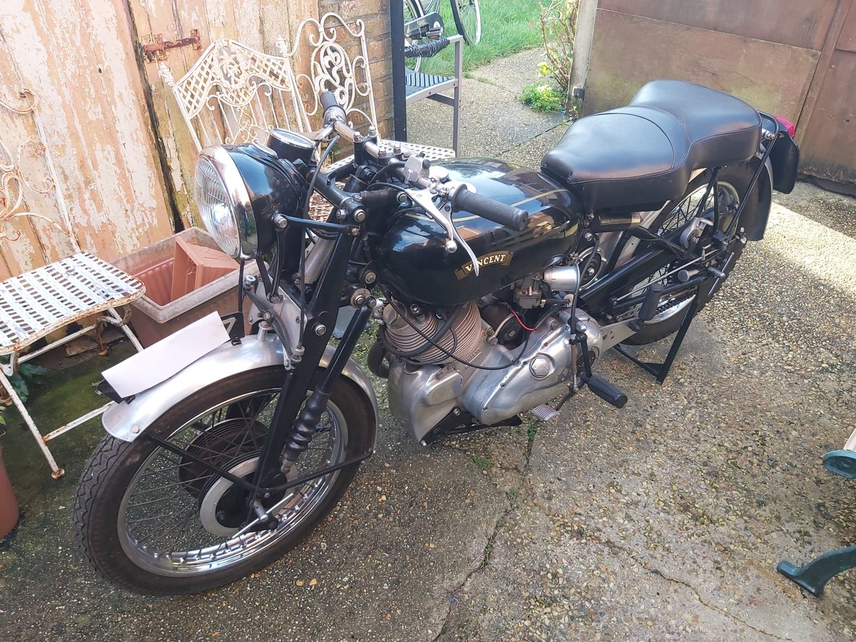 1954 Vincent comet rapide For Sale (picture 1 of 6)