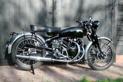 1955 2014 Vincent Black Shadow Evocation