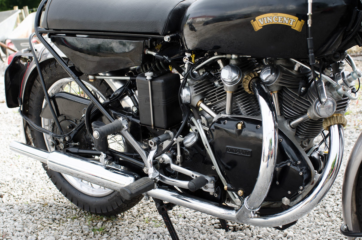 1955 VINCENT BLACK SHADOW &1926 SCOTT FLYING SQUIRREL  SOLD (picture 3 of 3)