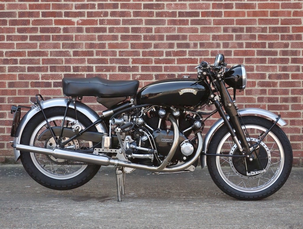 1953 Vincent Black Shadow Series C For Sale (picture 1 of 6)
