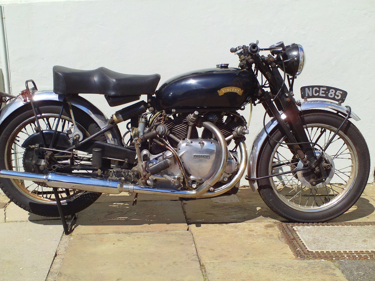 1954 VINCENT RAPIDE SOLD (picture 1 of 6)