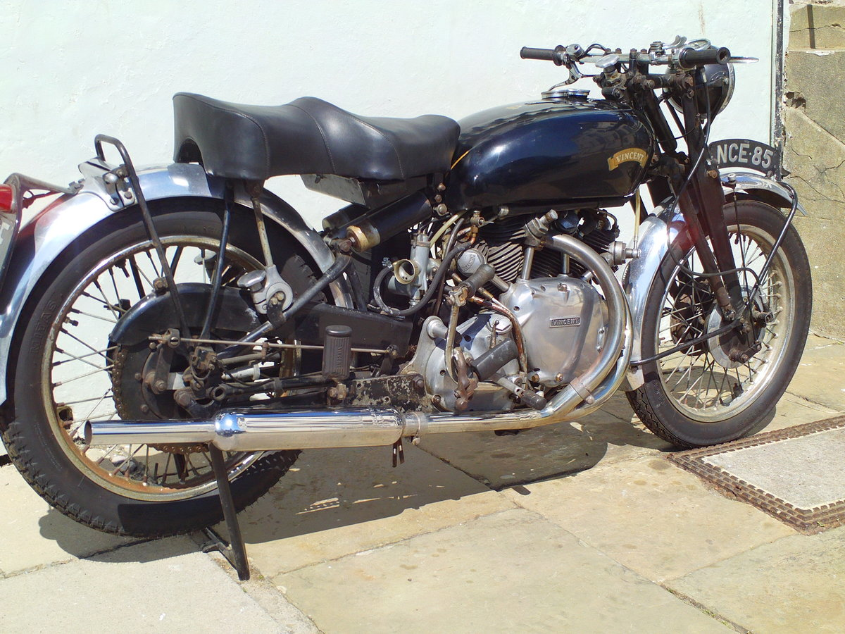 1954 VINCENT RAPIDE SOLD (picture 2 of 6)