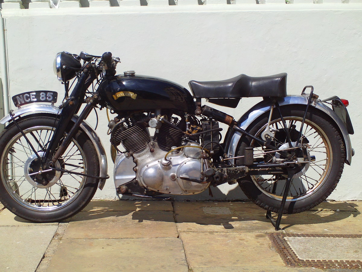 1954 VINCENT RAPIDE SOLD (picture 3 of 6)