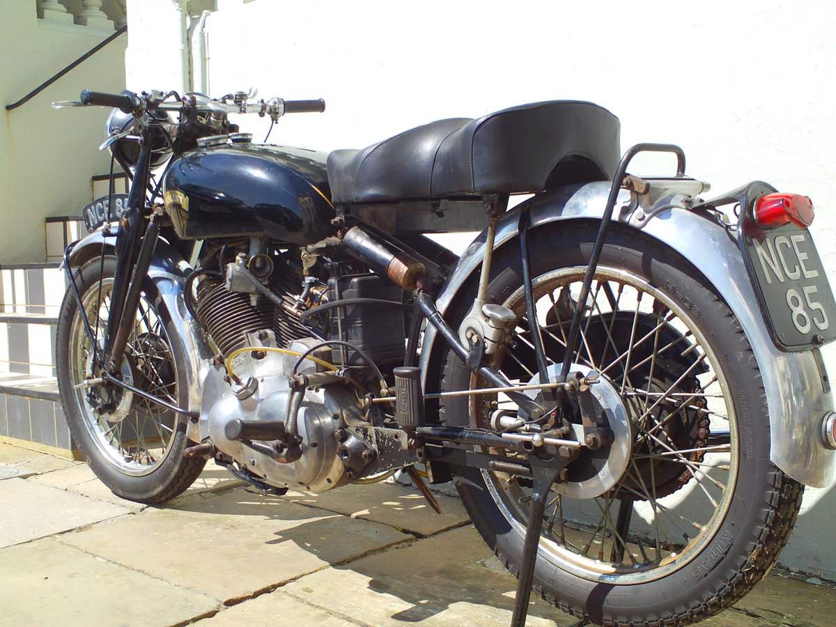 1954 VINCENT RAPIDE SOLD (picture 4 of 6)