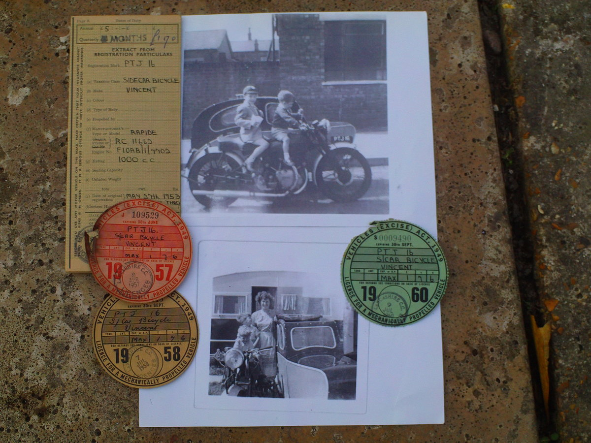 1952 VINCENT RAPIDE For Sale (picture 6 of 6)