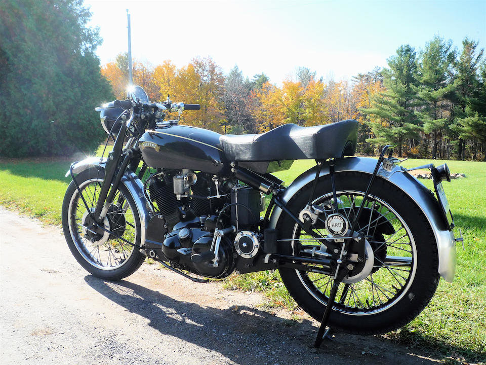 1953 VINCENT 998CC SERIES C BLACK SHADOW - GS GROUP For Sale (picture 1 of 6)