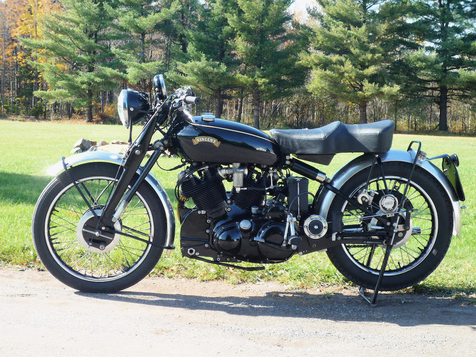 1953 VINCENT 998CC SERIES C BLACK SHADOW - GS GROUP For Sale (picture 2 of 6)