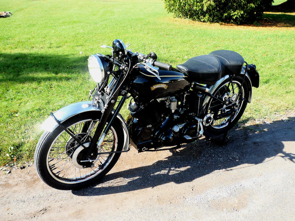 1953 VINCENT 998CC SERIES C BLACK SHADOW - GS GROUP For Sale (picture 4 of 6)