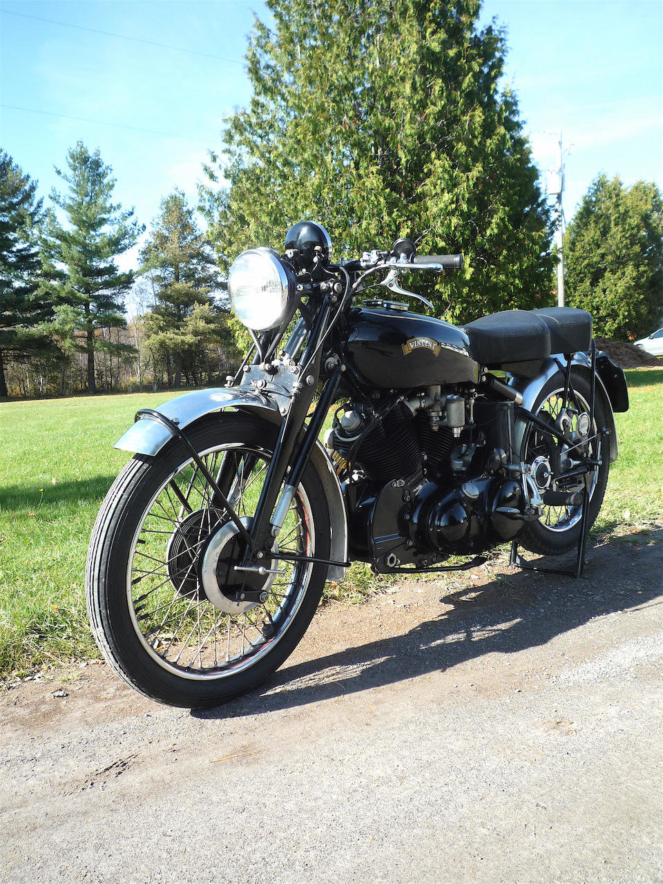1953 VINCENT 998CC SERIES C BLACK SHADOW - GS GROUP For Sale (picture 6 of 6)
