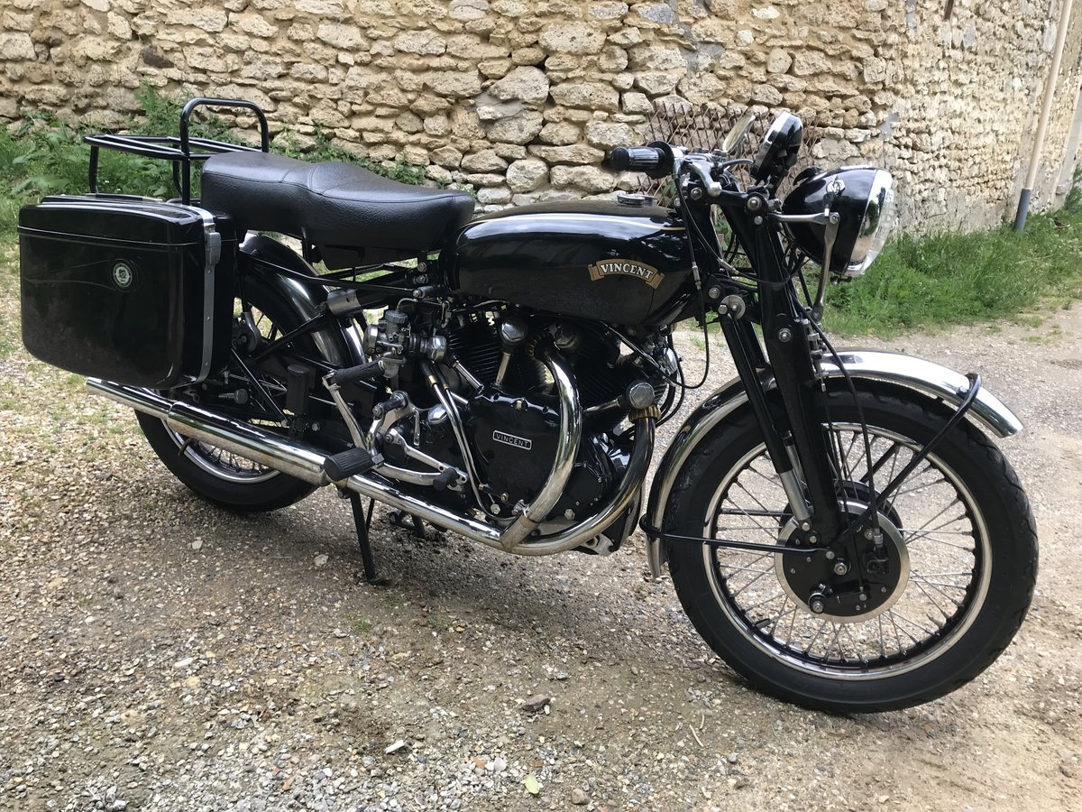 1951 Vincent Black Shadow For Sale (picture 1 of 2)