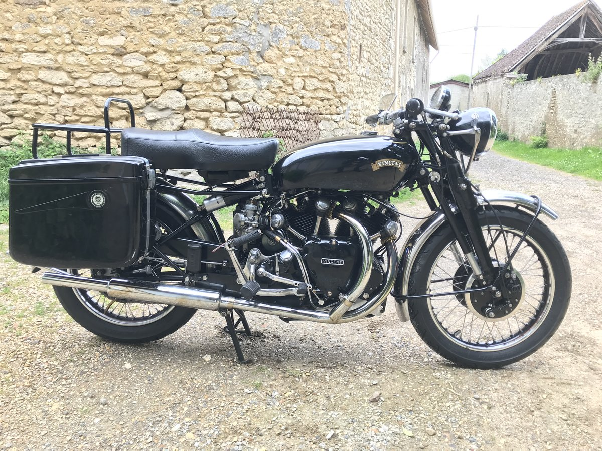 1951 Vincent Black Shadow For Sale (picture 2 of 2)