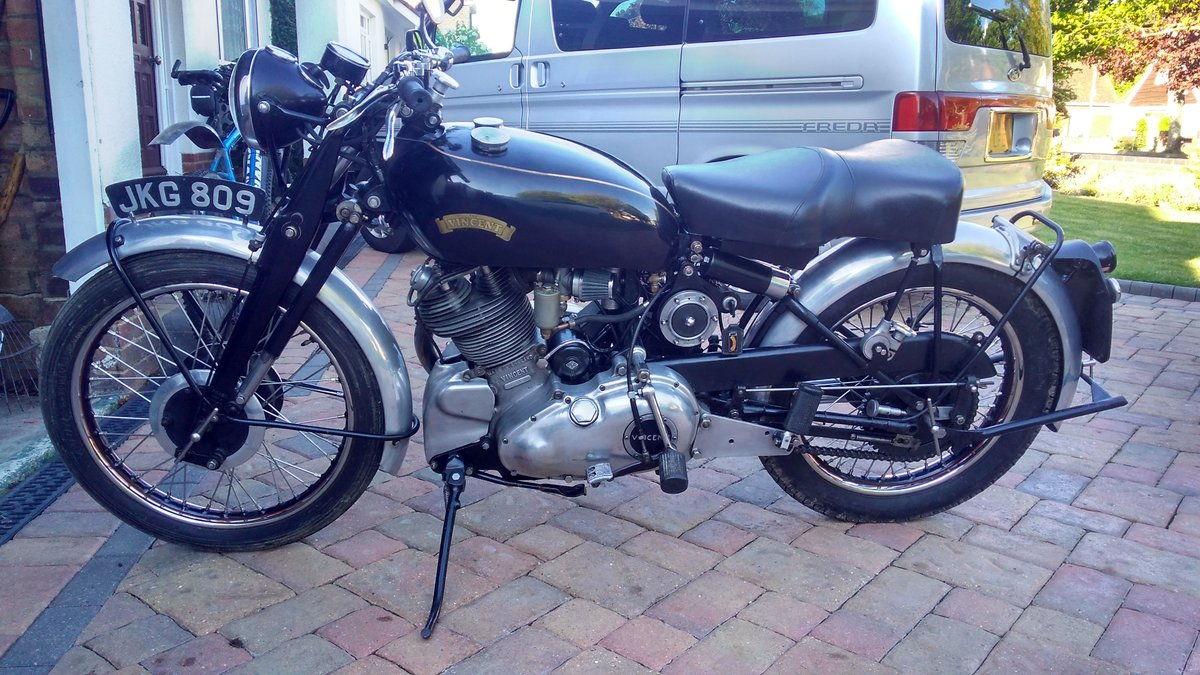 1954 Vincent Comet SOLD (picture 2 of 4)