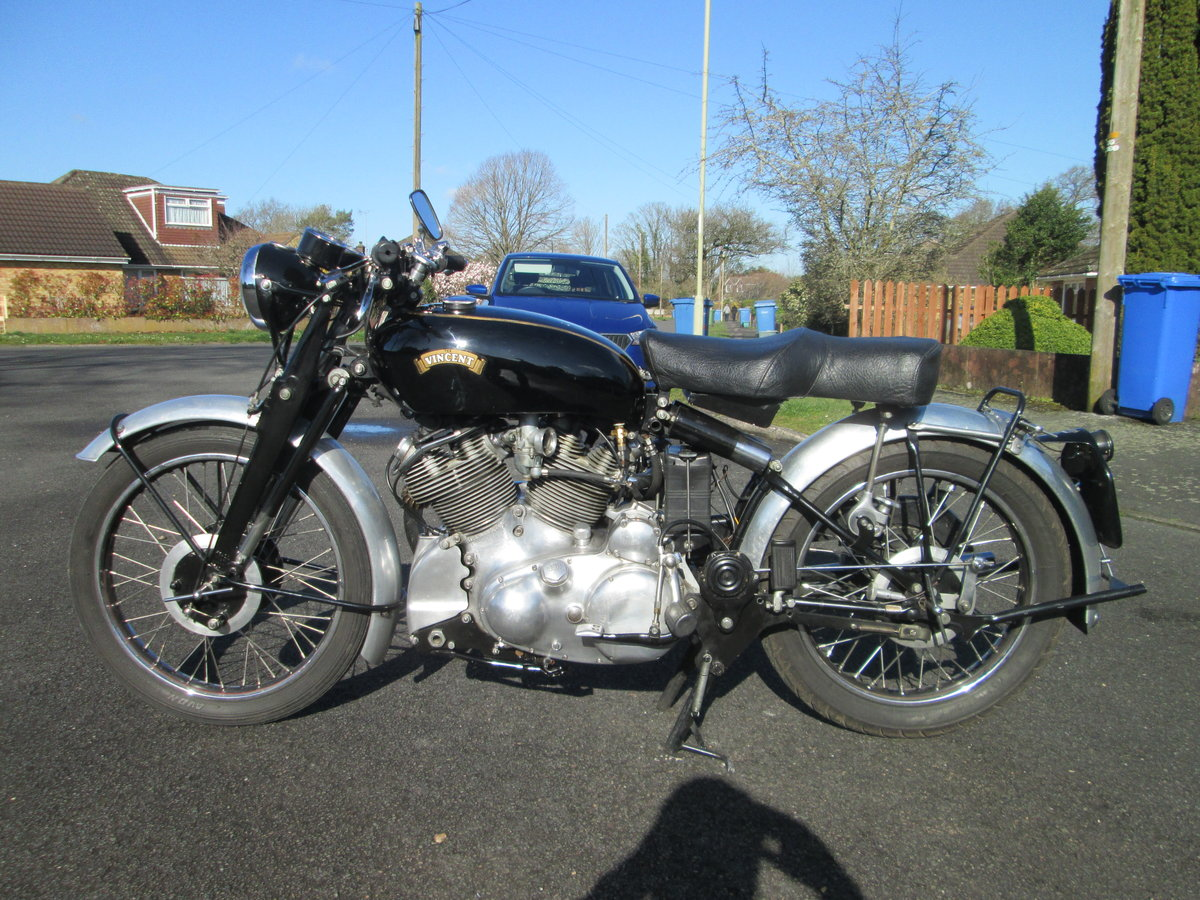 1950 Vincent Rapide For Sale (picture 2 of 6)