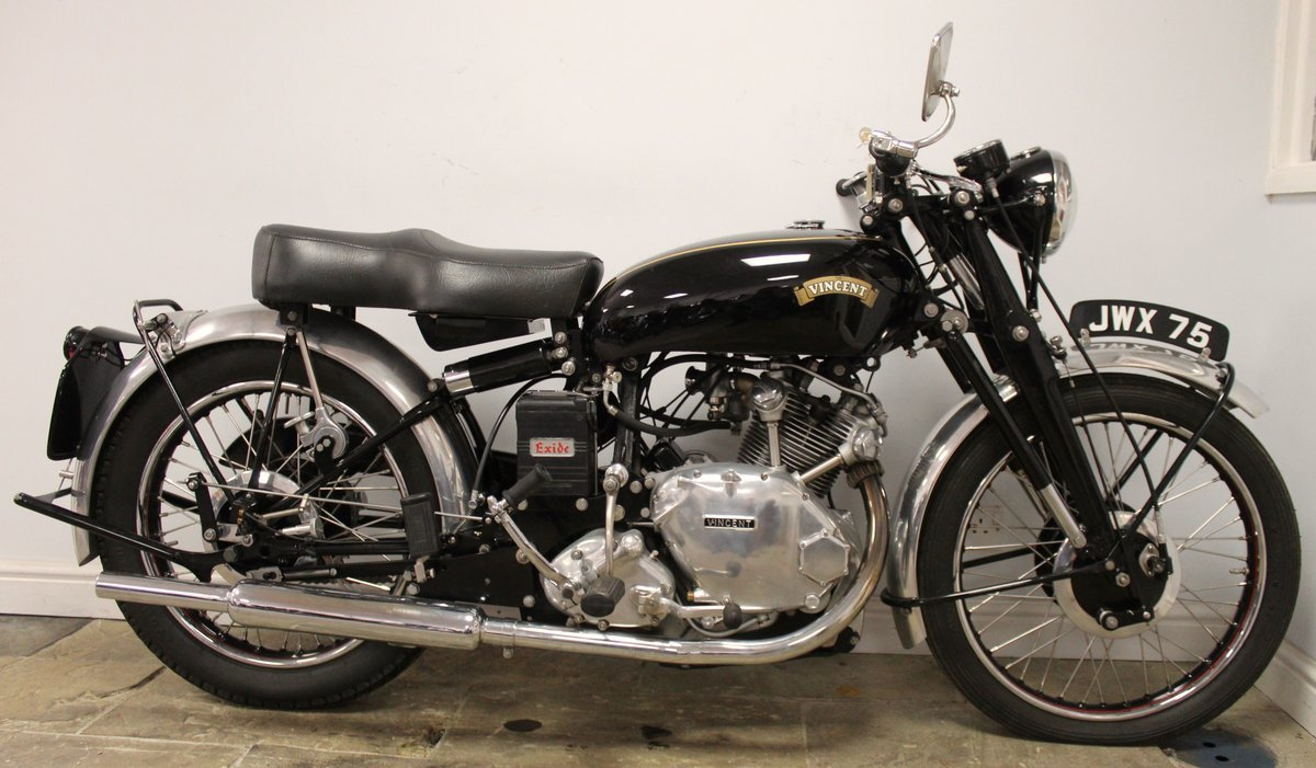 1950 Vincent Comet 500 cc Single Frame number RC1/5512 , For Sale (picture 1 of 6)