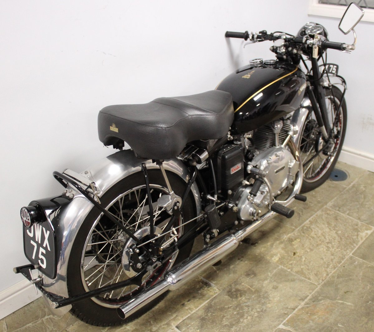 1950 Vincent Comet 500 cc Single Frame number RC1/5512 , For Sale (picture 4 of 6)