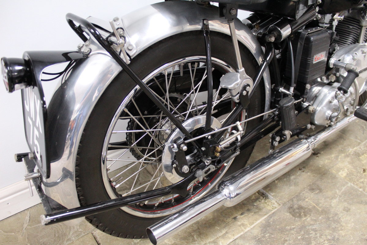 1950 Vincent Comet 500 cc Single Frame number RC1/5512 , For Sale (picture 5 of 6)
