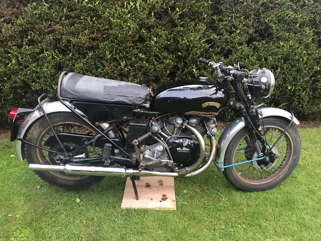 1955 Vincent Series 'D' Rapide SOLD (picture 3 of 4)
