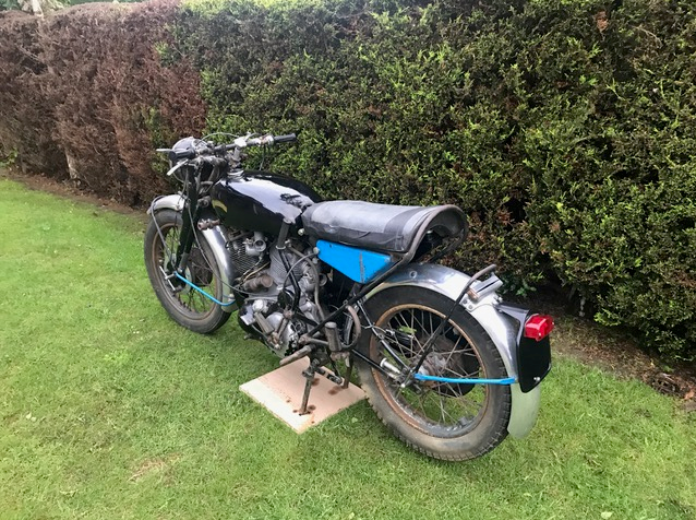 1955 Vincent Series 'D' Rapide SOLD (picture 4 of 4)