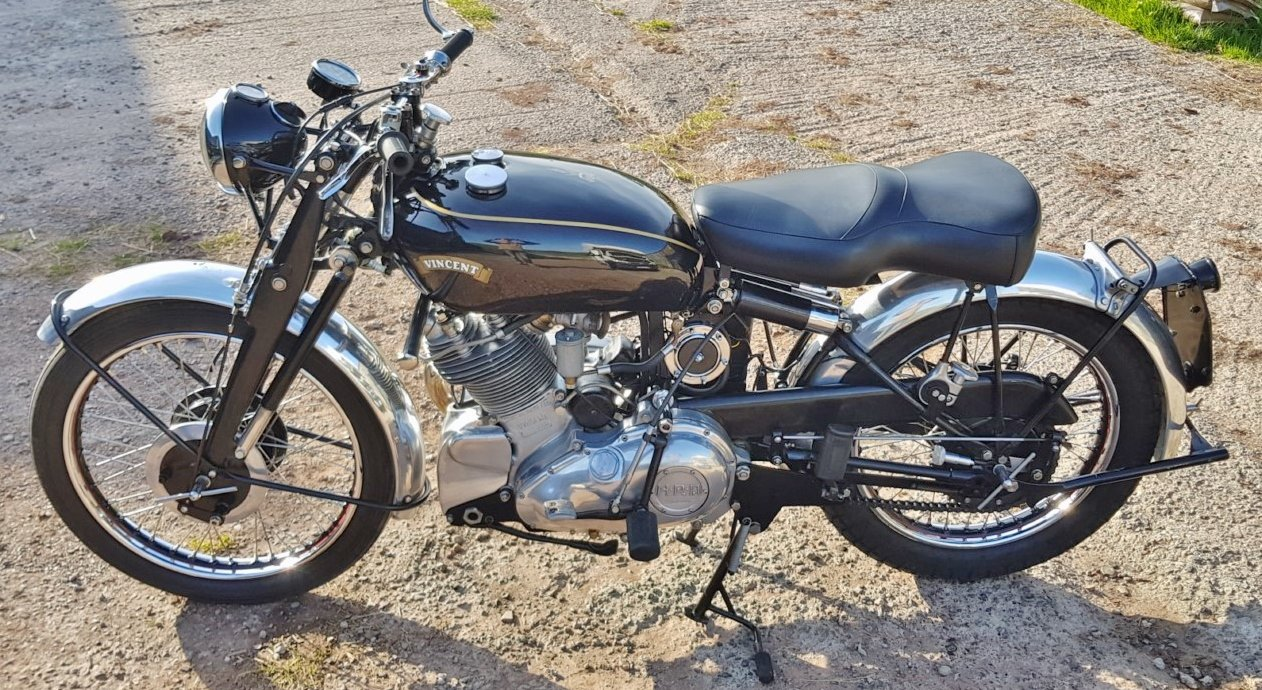 1950 Vincent Comet For Sale (picture 1 of 4)