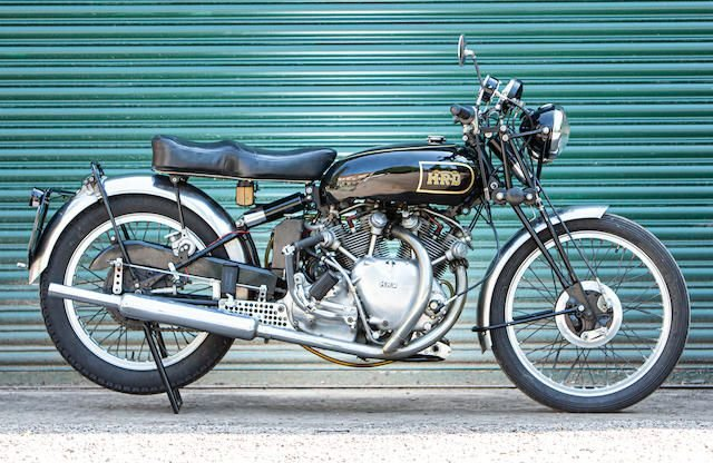 1948 Vincent-HRD 998cc Rapide SOLD by Auction (picture 1 of 1)