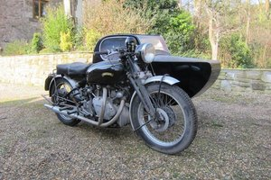 1952 VINCENT 998CC SERIES-C RAPIDE WATSONIAN COMBINATION