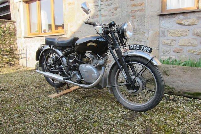 1950 VINCENT 499CC COMET (LOT 335) SOLD by Auction (picture 1 of 1)