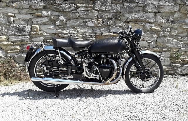 1951 VINCENT 998CC SERIES-C BLACK SHADOW (LOT 408) SOLD by Auction (picture 1 of 1)