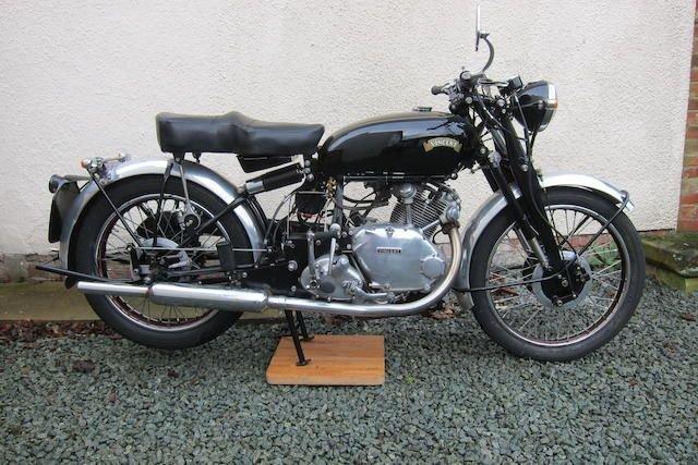 1950 VINCENT 499CC COMET (LOT 409) SOLD by Auction (picture 1 of 1)