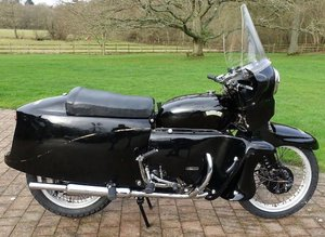 1955 VINCENT 998CC BLACK PRINCE (LOT 411)