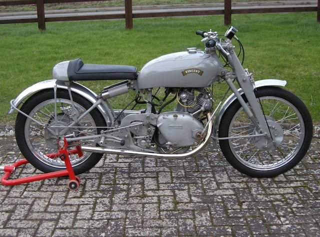 0000 VINCENT 499CC GREY FLASH REPLICA (LOT 412) SOLD by Auction (picture 1 of 1)
